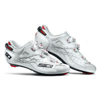 New SIDI Shot Road Bike Bicycle Cycling Cleat Shoes [White/White 40-48]
