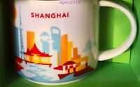 US SELLER - New Starbucks You Are Here (China City) SHANGHAI 14 oz. MUG Cup