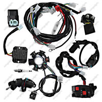 Electric Wiring Harness Magneto Coil Stator Fits For GY6 125cc 150cc ATV QUAD
