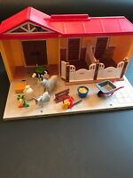 Playmobile Farm carry set not complete
