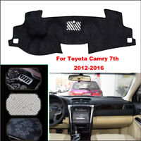 For Toyota Camry 7th Car Dashboard Cover Dash Mat Anti-Sun Velvet Instrument Pad