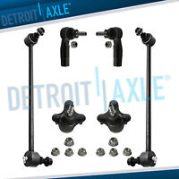 6pc Ball Joints Outer Tierods Sway Bar Links A3 Quattro Tiguan Eos Golf GTI AWD