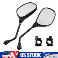 ATV Rear View Side Mirrors For Polaris Sportsman 400 450 500 550 570 700 800 850