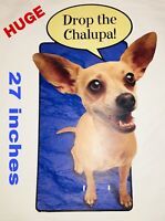 Rare Taco Bell Chihuahua Yo Quiero Taco Bell 1999 Drop the Chalupa! HUGE Display
