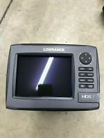 Lowrance HDS 7 Gen 2 Lake Insight  Non-Touch Fishfinder GPS *mint Condition*