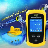 LUCKY Wireless Sonar Fish Finder 40m Depth Water-proof Fish Detector FFCW1108-1