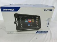 Lowrance Elite Ti Fish Finder/Depth Finder with C-MAP PRO Map Card