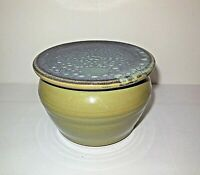 Dirty Bird Pottery Virginia Bowl w Lid Green French Butter Dish King George, VA