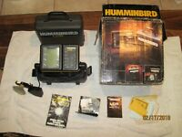 Humminbird LCR 4000 portable with Transducer,  Box and manuals works good
