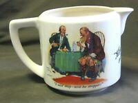 Rare King George IV Old Scotch Whisky Water Pitcher Pub Jug Royal Doulton