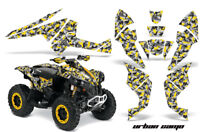 ATV Decal Graphics Kit Quad Wrap For Can-Am Renegade 500 X/R 800X/R 1000 URBAN Y