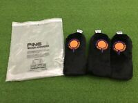 NEW Karsten PING GOLF 6th ANNUAL SUNS SCRAMBLE Barrel Plush HEADCOVER SET Woods