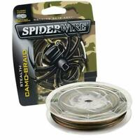 Spiderwire Camo Stealth Superline Braided Fishing Line Various Colors