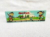 1950s Vintage MB3 Spectrum Colour Pencils Tin Box Madras