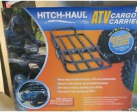 Hitch Haul Black  Cargo Carrier (New) Also Fits RVs, Cars, Trucks, ATV