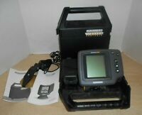 HUMMINBIRD Wide 128 Portable FishFinder Manuals TESTED No Batteries Included