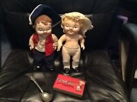 Vintage 1970s Campbell's Soup Kids Colonial Doll Set