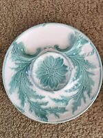 Vintage French Majolica Artichoke Plate Gien France Buy One or More Great Plate