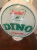 vintage original  Sinclair glass gas pump globe, gently used great condition