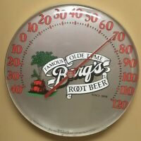 Barqs root beer Thermometer minty clean. Crush it