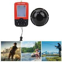 100M Wireless Sonar Sensor Fish Finder Echo Sounder Fisher Tackle Accessory NEW