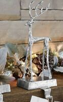 *6 Avail* Pottery Barn ~SCULPTED REINDEER~ LARGE Stocking HOLDER~CHRISTMAS~