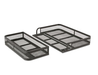 Guide Gear Universal 2 Pc. ATV Front Rear Drop Cargo Basket Rack Carrier Hauler
