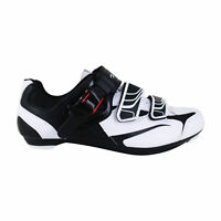 Zol White Road Cycling Shoes