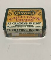 Crayola Collectors Colors, Limited Edition, Tin with Crayons, New