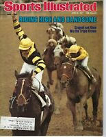 1977 6 20 Sports Illustrated magazine Horse Racing Seattle Slew win Triple Crown