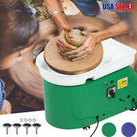 350W Electric Pottery Wheel Ceramic Machine Foot Pedal Hand Control Clay