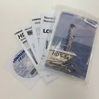 Lowrance HDS5x Operations Guide Installation Instructions DVD and More