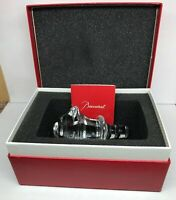 Baccarat Wine Port Whiskey Decanter Stopper Elegant Bar Ware With Box and Cert