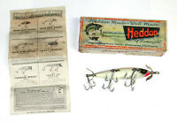 VINTAGE 5 HOOK HEDDON DOWAGIAC #150 P in ORIGINAL BOX with INSERT