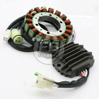 Stator + Voltage Regulator Rectifier for 2002-2005 Yamaha ATV Warrior 350 YFM350