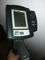 BOTTOM LINE FISHIN BUDDY 1200 PORTABLE FISH FINDER SIDE FINDER  WORKING