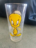 VTG '73 Tweety Bird Glass Warner Bros Pepsi Collector Series