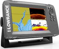 Lowrance HOOK2 7-inch Fish Finder with SplitShot Transducer 000-14290-001 New!!!