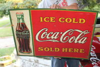 Vintage 1930 Coca Cola W/1923 Christmas Bottle Soda Pop 28
