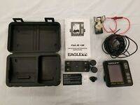 Eagle Fish I.D 128 Fishfinder Case Manual Mount Power Cable - Broken Transducer
