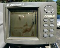 Lowrance X125 Fish Finder. Works Great