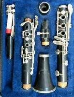 Selmer 1401 Clarinet With Case and Vandoren model B45 hard rubber mouthpiece