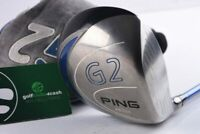 PING G2 DRIVER / 8.5° / STIFF FLEX PROLAUNCH BLUE SHAFT / PIDG2050