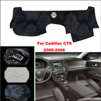 For Cadillac CTS Car Dashboard Pad Cover Dash Mat Anti-Sun Velvet Instrument Pad