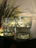 Set of {4} ++NEW++ Bacardi Rock Glasses