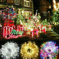 LED Christmas Tree Fairy String Party Light Outdoor Indoor Xmas Decoration Lamp