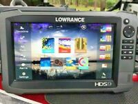 Lowrance HDS 9 GEN 3 GPS / Fishfinder with Insight Charts
