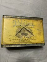 Vintage Early Rare Standard Oil Car Truck Boat Polarine One Half Gallon Oil Can