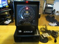 eagle 60/30 portable fish finder/ excellent