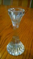 PAIR (2) BACCARAT MASSENA PATTERN CANDLE HOLDERS 6
